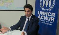 Giovanni Filippo Bassu, representante regional para Centroamérica y Cuba de Acnur, habló con Prensa Libre (Foto Prensa Libre: Luisa Laguardia).
