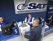 La SAT estima que la evasión del ISR supera el 70%, según los datos conocidos en la comisión técnica. (Foto Prensa Libre: Hemeroteca)