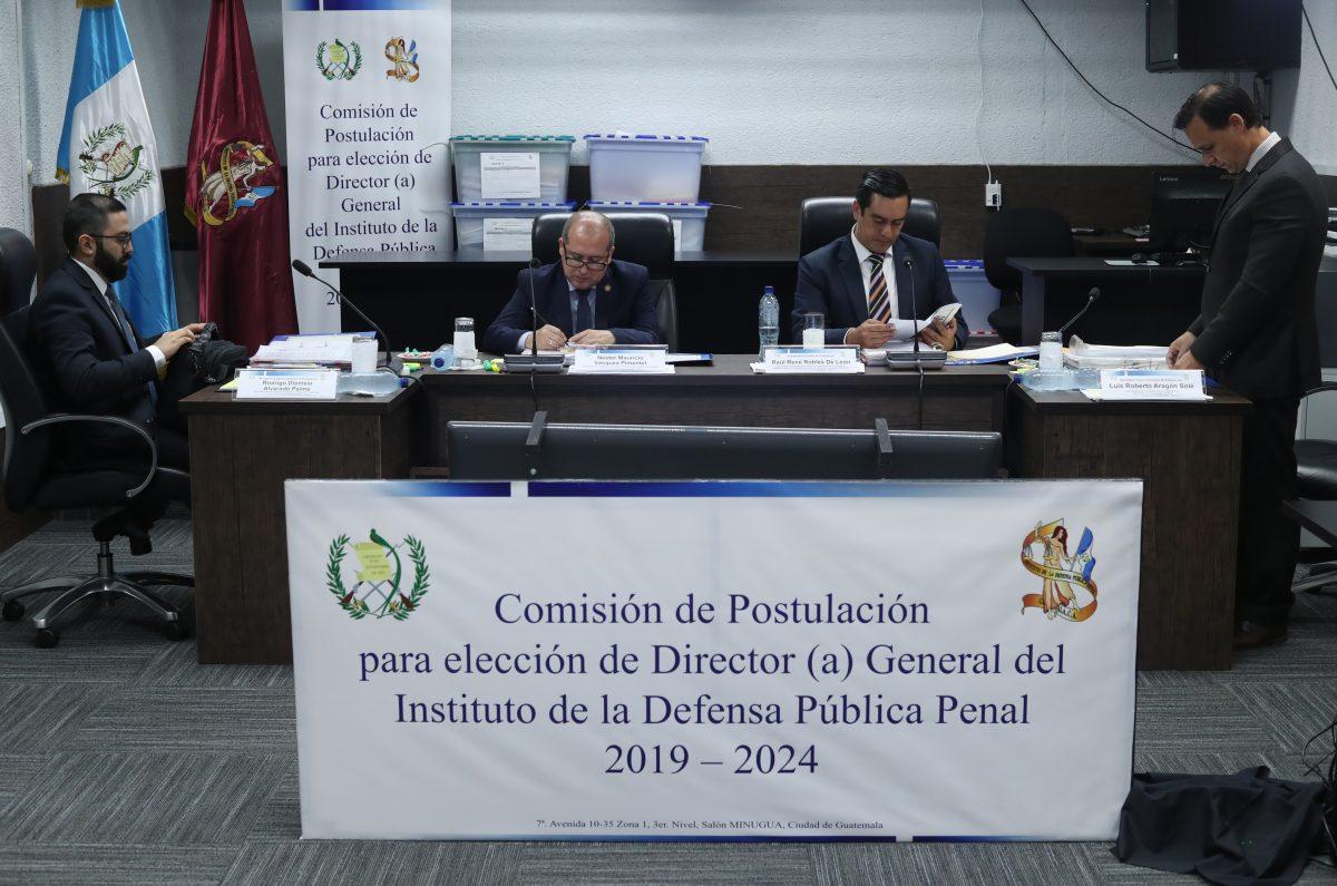 Comisión seleccionará terna para elegir a director de la Defensa Pública Penal