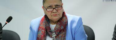 María Consuelo Porras busca que la Corte de Constitucionalidad anule la sentencia del 6 de mayo sobre la elección de magistrados. (Foto Prensa Libre: Hemeroteca PL)