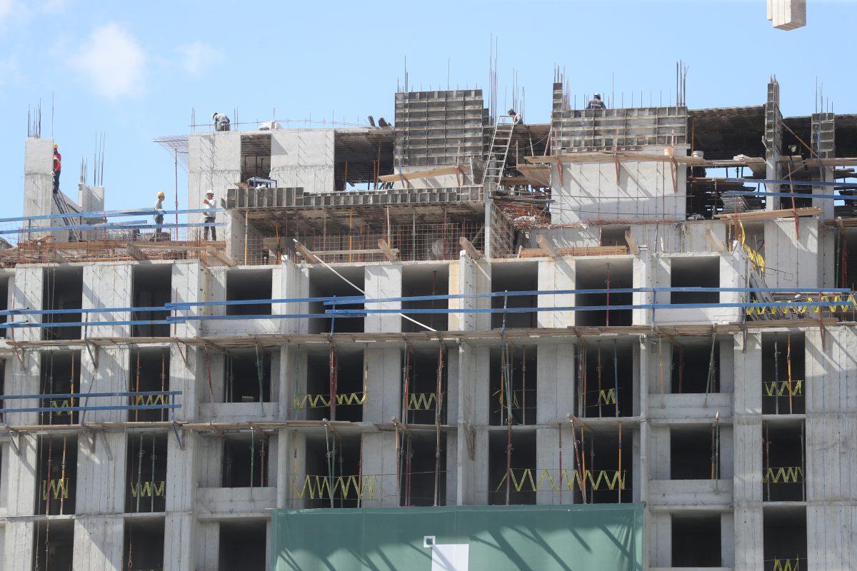 Peso de la construcción se refleja en la economía: el PIB creció 3% en el primer trimestre