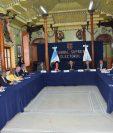 Reunion de magistrados del Tribunal Supremo Electoral y embajadores.  Fotograf'a. CORTESIA TSE:                       26/06/2019