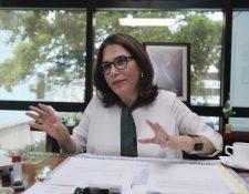 Vivian Panting, exembajadora de Honduras en Guatemala, habla con Prensa Libre sobre su labor en cuatro año y medio en el país. (Foto Prensa Libre: Juan Diego González)