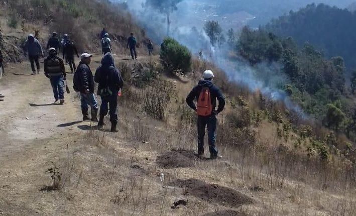 Los conflictos han ocurrido en un área montañosa entre Nahualá y Santa Catarina Ixtahuacán. (Foto Prensa Libre: Hemeroteca PL).