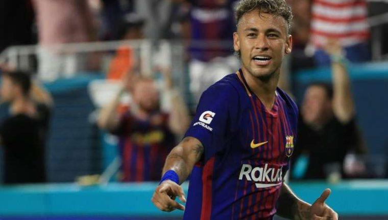 El futbolista brasileño Neymar podría regresar al FC Barcelona. (Foto Prensa Libre: Hemeroteca PL)