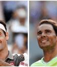 Los mejores exponentes del tenis, Roger Federer y Rafael Nadal se medirán en las semifinales de Roland Garros. (Foto Prensa Libre: AFP)