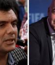 Gerardo Paiz recibió la felicitación de Gianni Infantino después de asumir como nuevo presidente de la Fedefut. (Foto Prensa Libre: Hemeroteca PL)