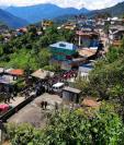 Vista del área urbana de San Mateo Ixtatán, municipio donde se registra la mayor incidencia de desnutrición crónica del país. (Foto Prensa Libre: Hemeroteca PL).