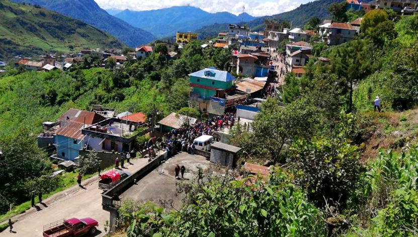 Integrantes de Junta Electoral Municipal se recuperan de agresión por parte de pobladores