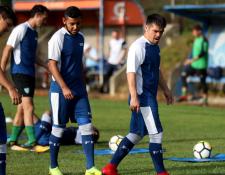 Edward Santeliz saldría como extremo en el equipo de Amarini Villatoro. (Foto Prensa Libre: Carlos Vicente)