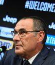 El entrenador de la Juventus, Maurizio Sarri, espera triunfar en su nuevo equipo y le gustaría contar con Gonzalo Higuaín. (Foto Prensa Libre: Juventus FC)