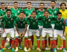 La tricolor mexicana se prepara para dar batalla en la Copa Oro. (Foto Prensa Libre: Toamda de internet)