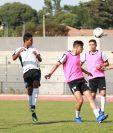 La Selección se entrenó este martes en Francia pensando en el duelo contra Qatar. (Foto Fedefut).