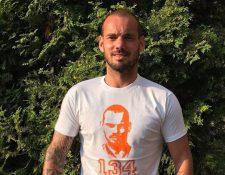 El jugador de Holanda fue detenido en estado de ebriedad. (Foto Prensa Libre: Redes)