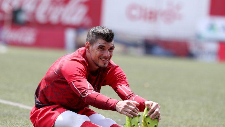 Manuel Sosa, es el fichaje estelar de Santa Lucía Cotz. para el Apertura 2019. (Foto Prensa Libre: Hemeroteca PL)