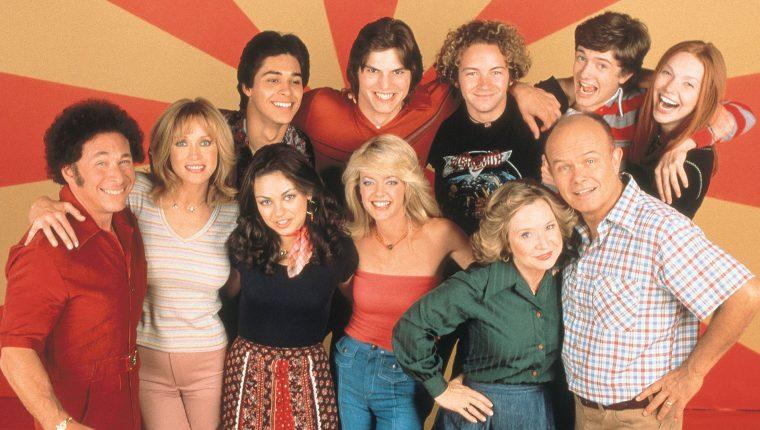 El primer episodio de That '70s Show salió al aire hace casi 21 años. Sin embargo, la serie aún tiene seguidores. (Foto Prensa Libre: Netflix)