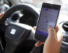 El límite del descuento promocional de Uber es de Q25 por viaje. (Foto Prensa Libre: Hemeroteca)