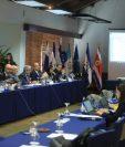 Delegados de Centroamérica y la UE expusieron los avances y la parte pendiente a desarrollar del pilar comercial. (Foto Prensa Libre: Juan Diego González)