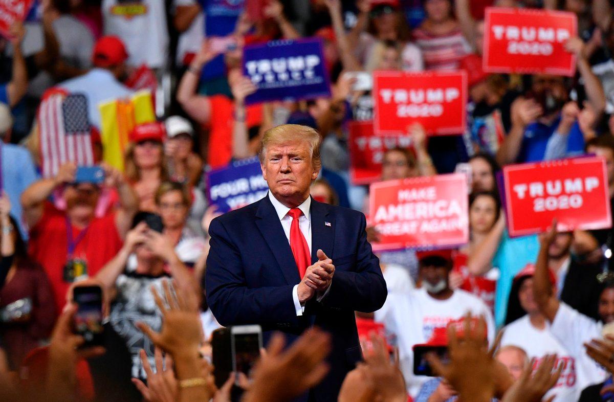 Exaltará logros en economía: Trump se lanza a la carrera por la reelección