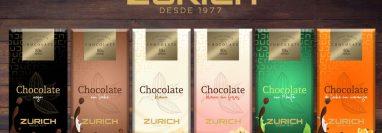 Zürich ofrece diversidad de chocolates y combinación de sabores. (Foto, Prensa Libre: Zürich).