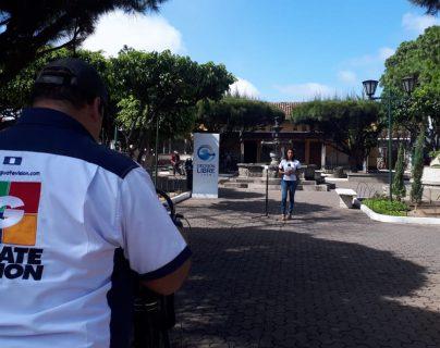 Cabildo Abierto de Prensa Libre y Noticiero Guatevisión se transmitió este lunes desde Mixco. (Foto Prensa Libre: Luis Machá)