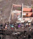 La tragedia dejó varias personas fallecidas y otras desaparecidas. Foto Prensa Libre: Carlos Hernández