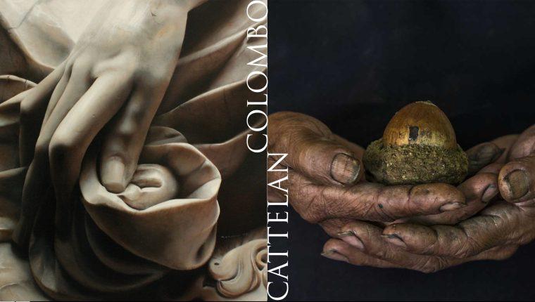 Los gestos del alma y la utopía, un  encuentro de dos artistas italianos radicados en Guatemala.  (Foto Prensa Libre: Instituto Italiano de Cultura)