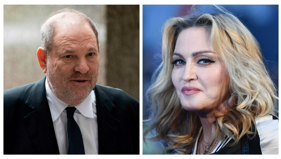 Madonna confiesa que fue acosada sexualmente por Harvey Weinstein