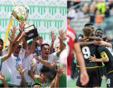 Antigua GFC jugará la primera ronda de la Liga de Concacaf contra el Forga FC, de Canadá. (Foto Prensa Libre).