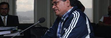"""Los delitos que tenemos acá son faltas administrativas"", dijo Arnoldo Medrano, exalcalde de Chinautla. (Foto Prensa Libre: Noé Medina)"