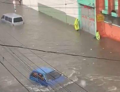 La ciudad capital fue una de las más afectadas por las lluvias.