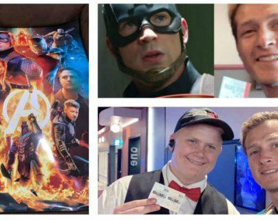 "El mexicano  Agustín Alanis es fan de ""Avengers: Endagame"" y quiere imponer récord. (Foto Prensa Libre: Twitter)"