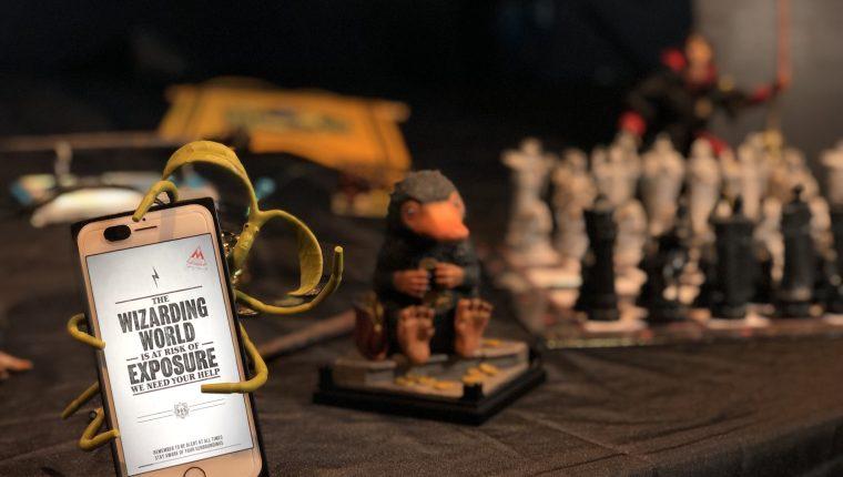 El nuevo juego de Harry Potter pretende que los aspirantes a magos salgan a las calles (Foto Prensa Libre: Niantic).