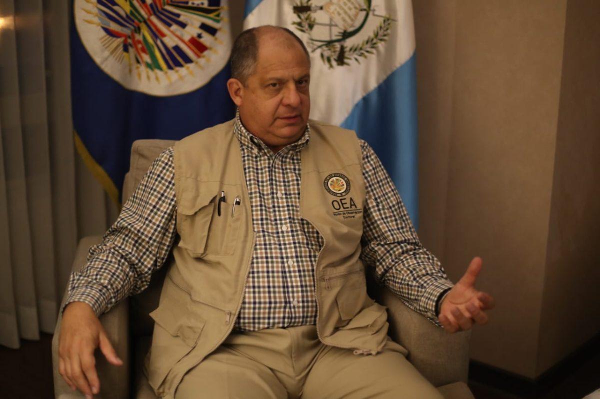 """""""Socavan el espíritu democrático"""": Jefe de misión de OEA condena y repudia las amenazas contra fiscal Óscar Schaad"""