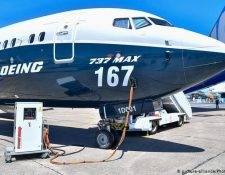 Grupo aéreo IAG pretende comprar aviones Boeing 737 MAX.  (picture-alliance/Photoshot/Chen Yichen)