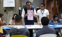 Conteo de papeletas elecciones generales 2019