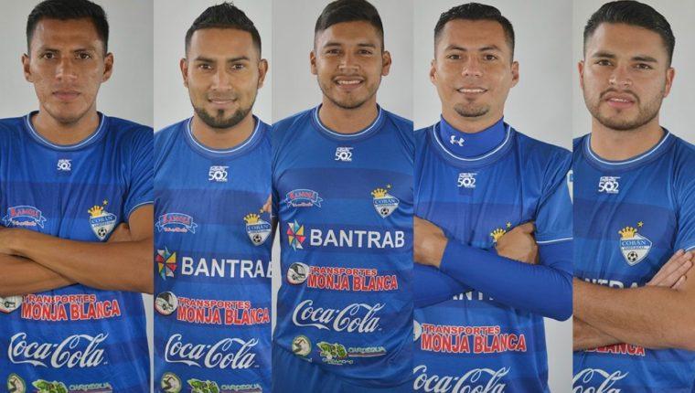 Cobán Imperial confirmó la continuidad de Gerson Tinoco, Delfino Álvarez, Nery Oliva, y los hermanos Víctor y Daniel Guay. (Foto Prensa Libre: Cobán Imperial)