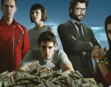 """El 19 de julio se estrena la tercera temporada de """"La Casa de Papel"""" y Netflix ya anunció la cuarta entrega. (Foto Prensa Libre: Netflix)"""