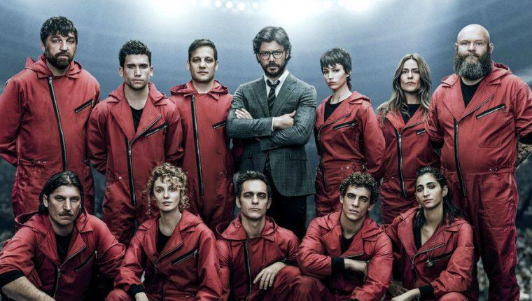"La tercera temporada de ""La Casa de Papel"" se estrena el próximo 19 de julio. (Foto Prensa Libre: Netflix)"