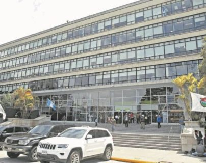 Vista de la municipalidad de Guatemala. (Foto Prensa Libre: Hemeroteca PL)