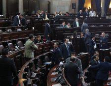 Legisladores tienen posturas encontradas sobre la posibilidad de iniciar un lobby con autoridades estadounidense. (Foto Prensa Libre: Hemeroteca PL)