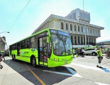 La agresión se registró en la estación Terminal en zona 9. (Foto Prensa Libre: Hemeroteca)