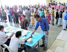El TSE espera que todos los guatemaltecos aptos para votar acudan a las urnas este domingo 16 de junio.(Foto Prensa Libre: Hemeroteca PL)