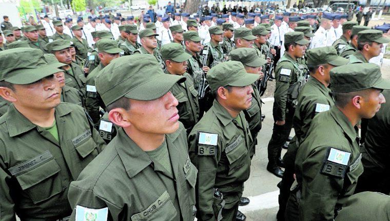 El ejercito de Guatemala  tendrá comandos de Informática y comunicaciones. (Foto Prensa Libre: Hemeroteca PL)