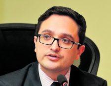Juan Francisco Sandoval, jefe de la Fiscalía Especial Contra la Corrupción.(Foto Prensa Libre: Hemeroteca PL)