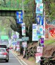 Los partidos deben de reportar los gastos de campaña electoral. (Foto Prensa Libre: Hemeroteca PL)