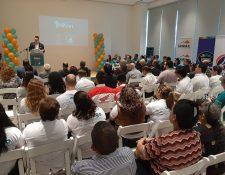 Este miércoles 19 de junio fue el lanzamiento oficial de la rifa El Hermano Pedro quiere un millón de amigos. (Foto Prensa Libre: Eslly Melgarejo)