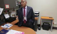 José Rafael Curruchiche Cucul, dirige de forma momentánea la Fiscalía de Asuntos Internos del Ministerio Público (Foto Prensa Libre: Kenneth Monzón)