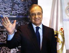 Florentino Pérez, presidente del Real Madrid. (Foto Prensa Libre: Hemeroteca PL)