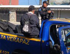 Los allanamientos se desarrollaron en Alta Verapaz y se logró la captura de 13 personas. (Foto Prensa Libre: Eduardo Sam Chun)